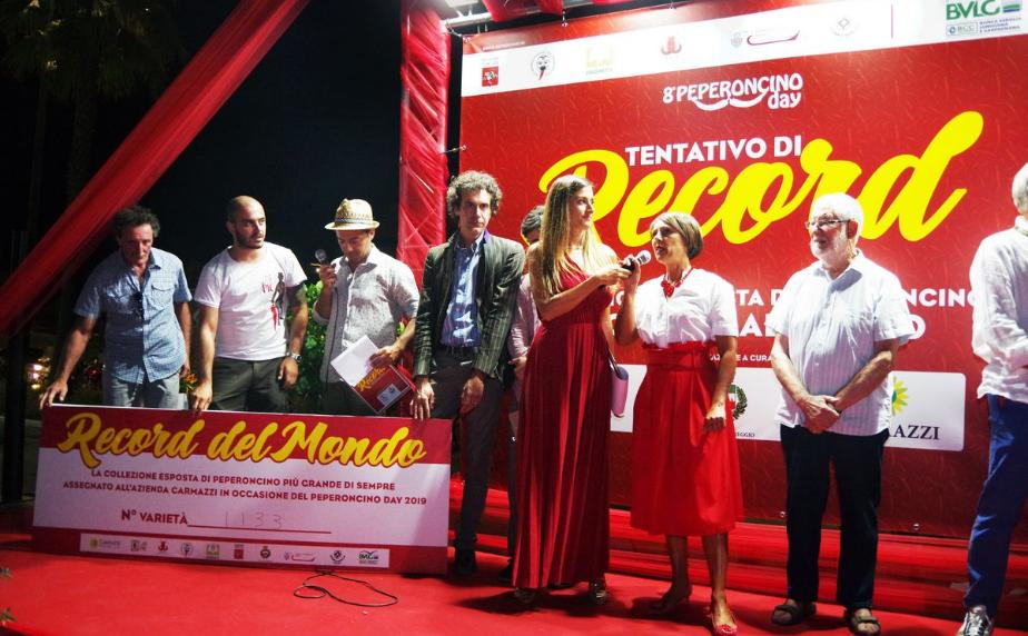 Record del Mondo – Peperoncino Day 2019