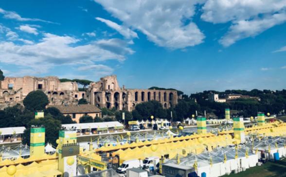 Viaggio Contadino di Coldiretti, 5-7 ottobre 2018 Circo Massimo