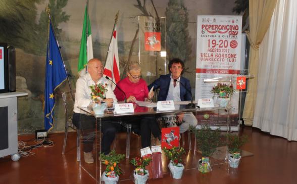5° Peperoncino Day presentato in Regione Toscana 4/8/2016