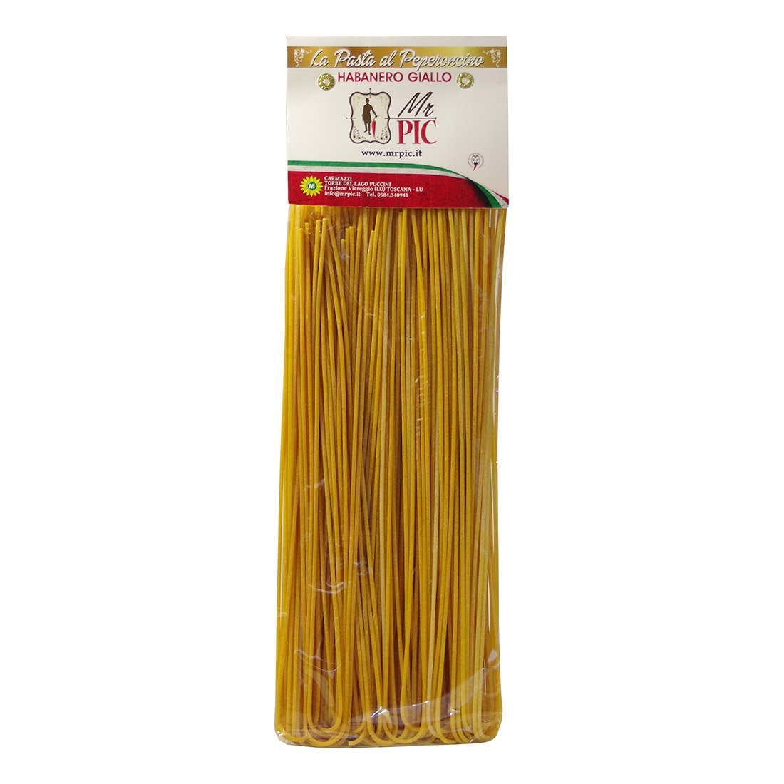 Spaghetti Habanero Giallo